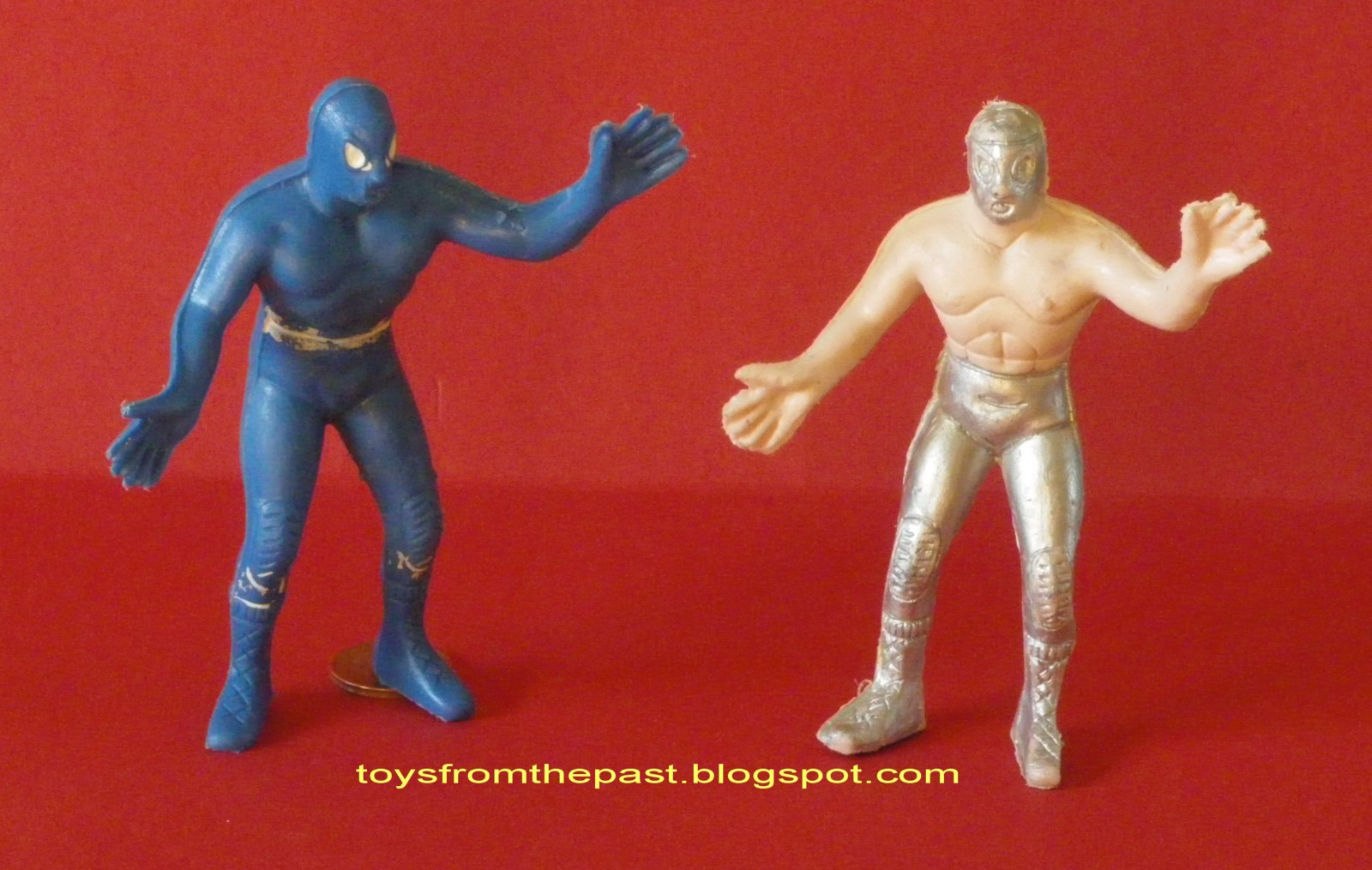 Lucha Libre Real Toys From The Past 321 Mexican Wrestlers Luchadores